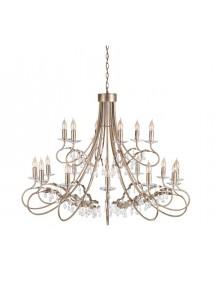 Ogromny ekskluzywny żyrandol Christina 18lt - Elstead Lighting