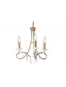 Trójźródłowy żyrandol klasyczny Christina 3lt - Elstead Lighting