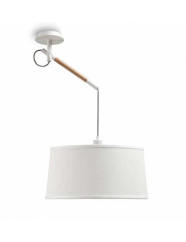 Lampa wisząca NORDICA L z ciekawym rozwiązaniem zwieszenia - Zuma Line