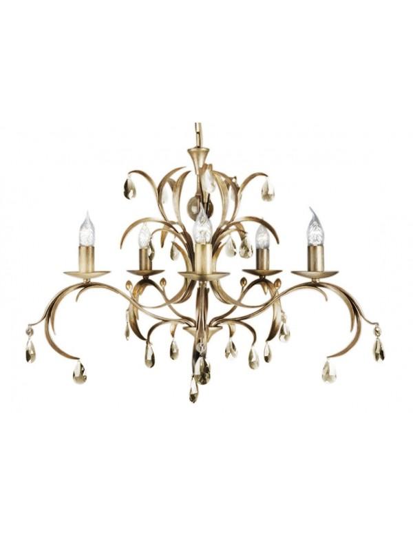 Zachwycający żyrandol klasyczny Lily 5lt - Elstead Lighting