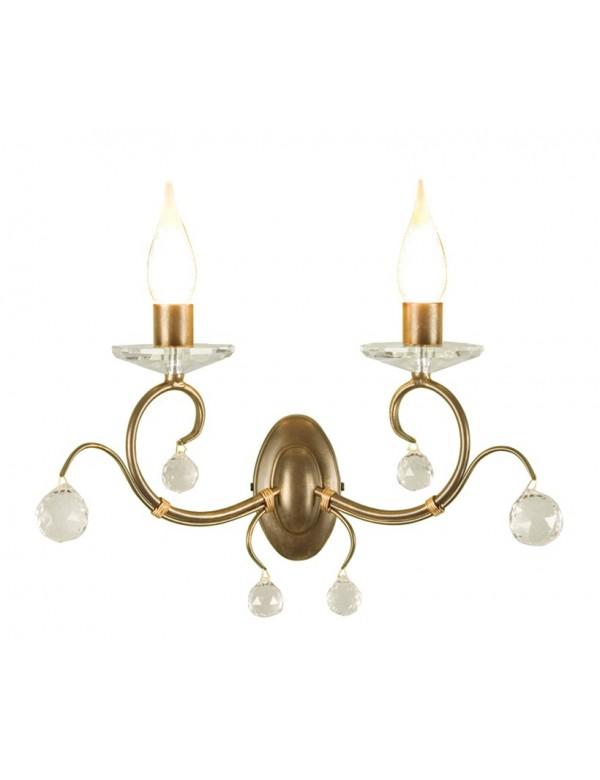 Kinkiet klasyczny dwupłomienny Lunetta - Elstead Lighting