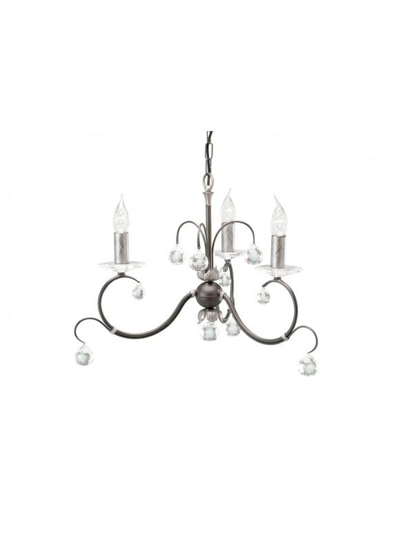 Cudny żyrandol w klasycznym stylu Lunetta 3lt - Elstead Lighting