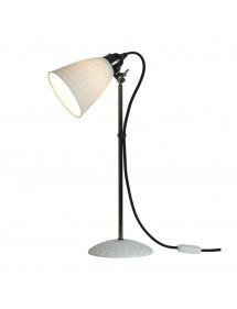 Stołowa lampa HECTOR 21 wzór geometryczny na kloszu - Original BTC