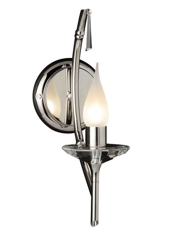 Elegancki kinkiet jednopłomienny Brightwell 1lt - Elstead Lighting