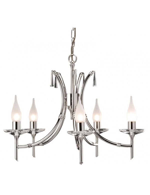 Zgrabny żyrandol klasyczny Brightwell 5lt - Elstead Lighting