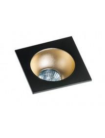 Kwadratowe oczko stropowe HUGO 1 w kilku kolorach - Azzardo