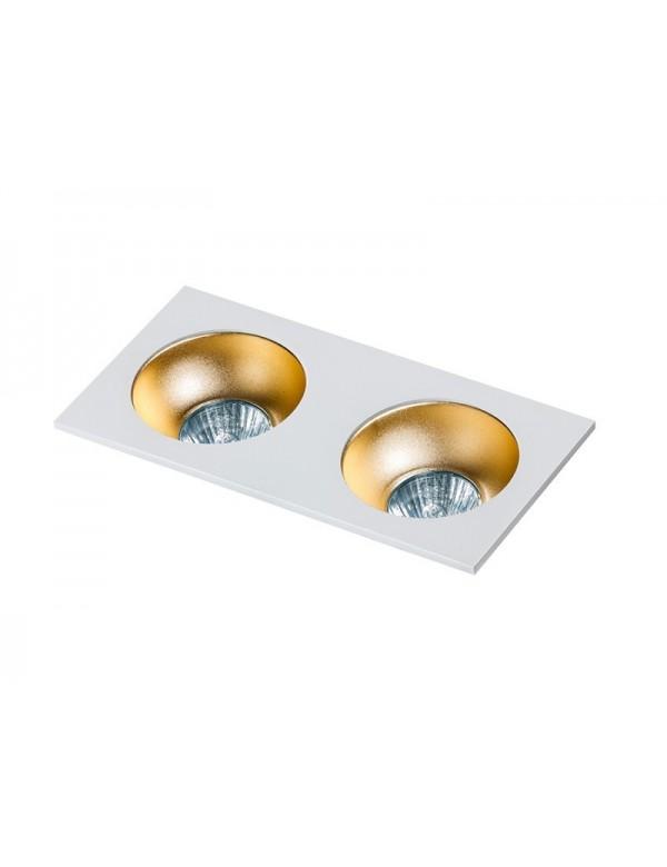Podwójne oczko stropowe HUGO 2 w kształcie prostokąta - Azzardo