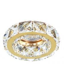 Ozdobna oprawa ESTER 1 kryształowe oczko stropowe - Azzardo