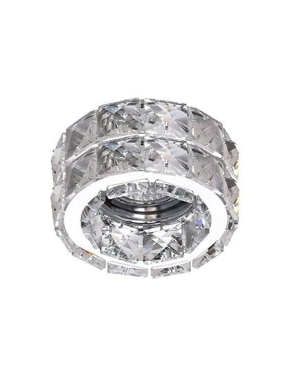 Kryształowe dekoracyjne oczko stropowe ESTER 2 - Azzardo