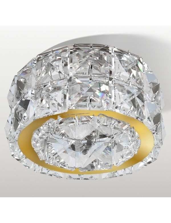 Kryształowe Dekoracyjne Oczko Stropowe Ester 2 Azzardo