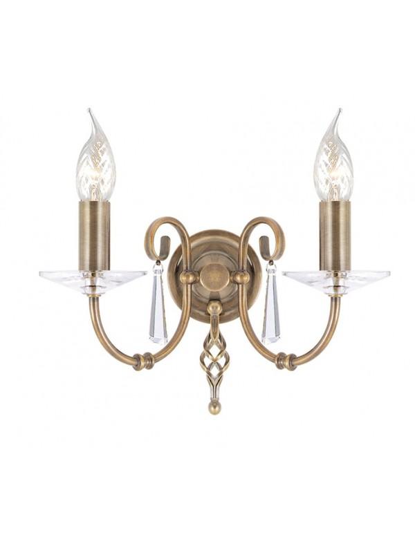 Wytworny podwójny kinkiet Aegean 2lt - Elstead Lighting
