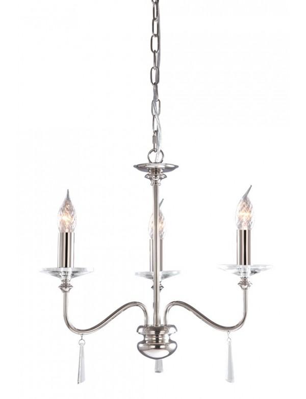 Zachwycający żyrandol w klasycznym stylu Finsbury Park 3lt - Elstead Lighting