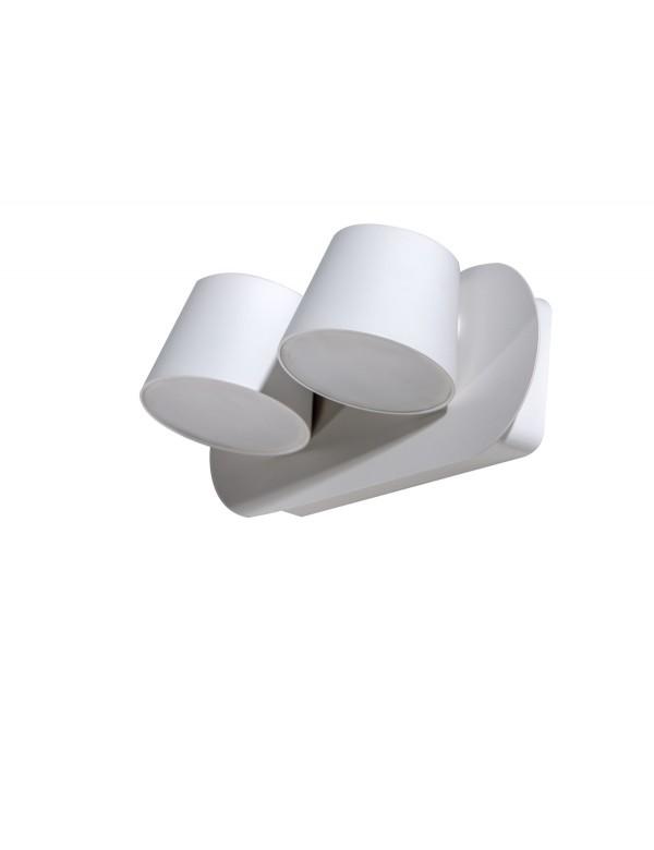 RAMONA 2 biały podwójny kinkiet aluminiowy - Azzardo