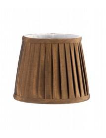 Brązowy abażur materiałowy LS161 - Elstead Lighting