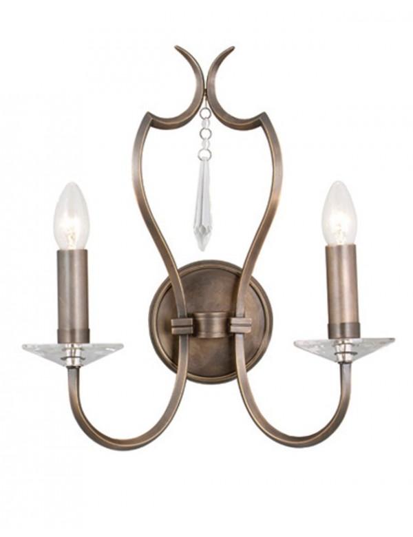 Niepowtarzalny kinkiet klasyczny Pimlico - Elstead Lighting