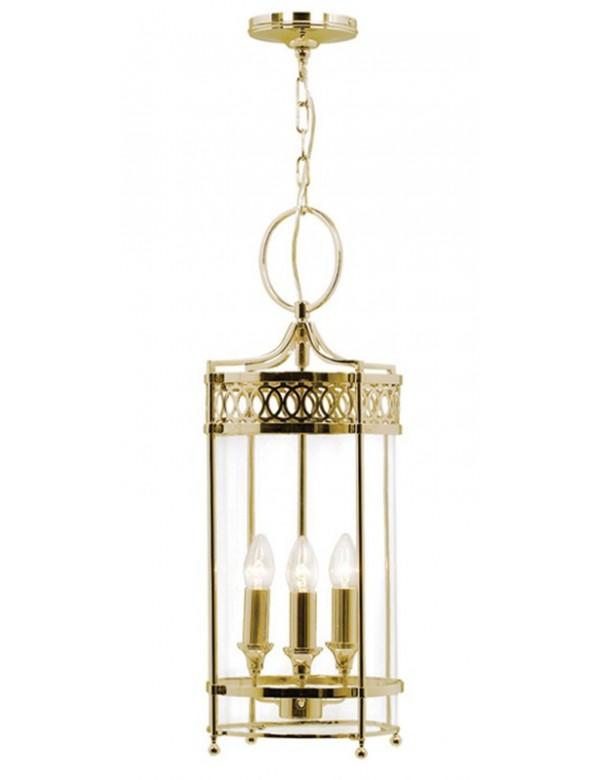 Fantastycznie wyglądająca lampa na łańcuchu Guildhall - Elstead Lighting