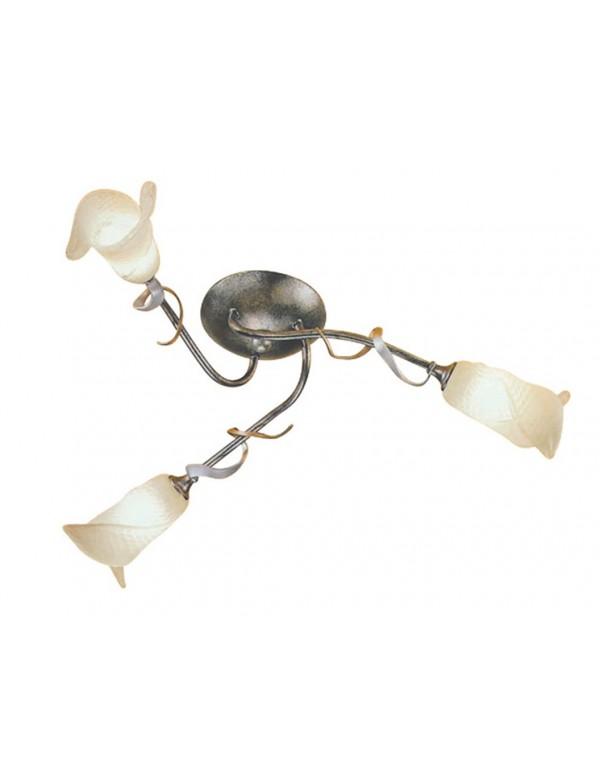 Nieruchoma trójramienna lampa sufitowa Fly 3lt - Elstead Lighting