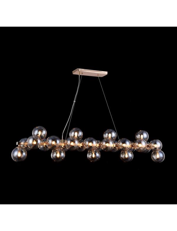 Lampa wisząca DALLAS W1 kule w kolorach: chrom lub złoty - Maytoni