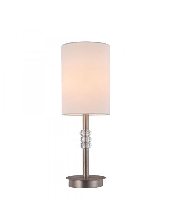 LINCOLN LS lampa stołowa z podłużnym kloszem w białym kolorze - Maytoni