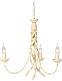 Klasyczny trójpłomienny żyrandol pokojowy Ribbon 3lt - Elstead Lighting