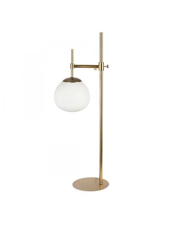 ERICH LS lampa stołowa o złotej prostej konstrukcji - Maytoni