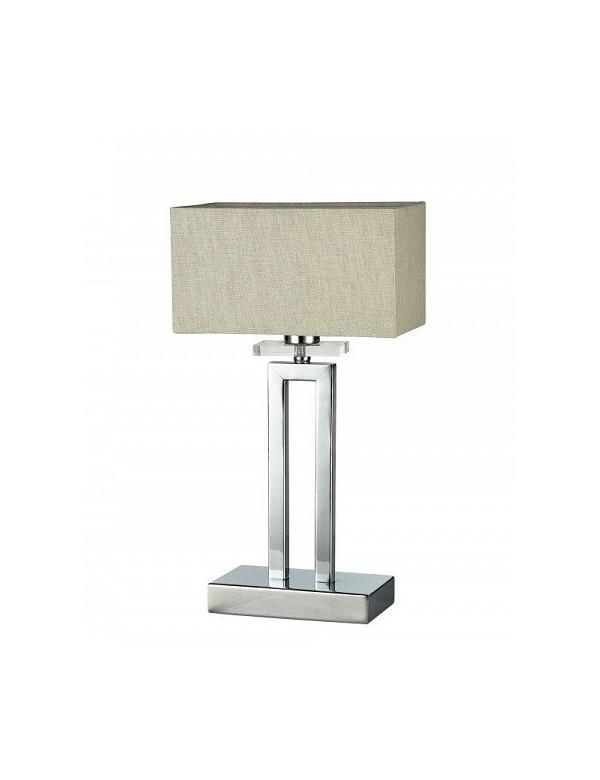 Elegancka lampa stołowa o polerowanej podstawie - MEGAPOLIS LS - Maytoni