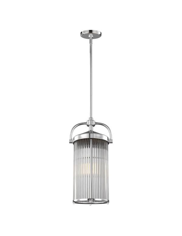 Wisząca lampa PAULSON 3 z możliwością montażu w łazience - Feiss