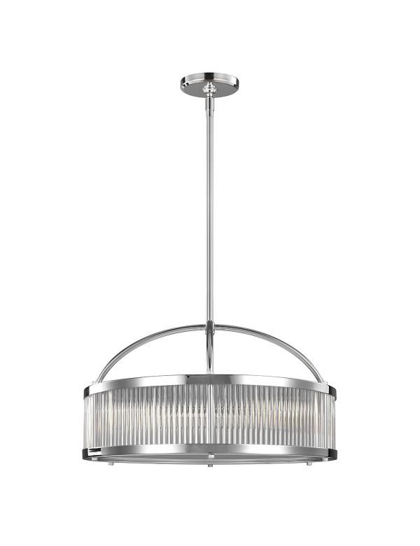 PAULSON 6 lampa wisząca z możliwością zamontowania w łazience - Feiss