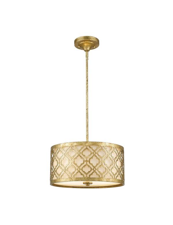 ARABELLA PM lampa wisząca lub plafon sufitowy - 2 w 1 - Gilded Nola