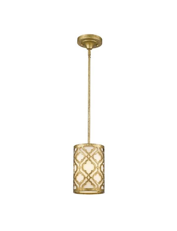 Mała lampa wisząca lub plafon ARABELLA MP 2 w 1 - Gilded Nola