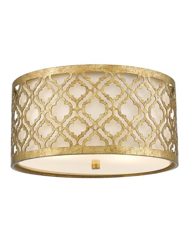 ARABELLA R plafon ze złotymi ornamentami na powierzchni - Gilded Nola