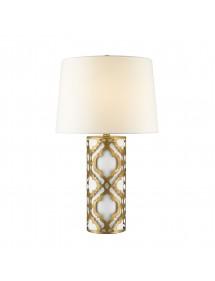 Stołowa lampa ARABELLA TLG ze złotym wykończeniem - Gilded Nola