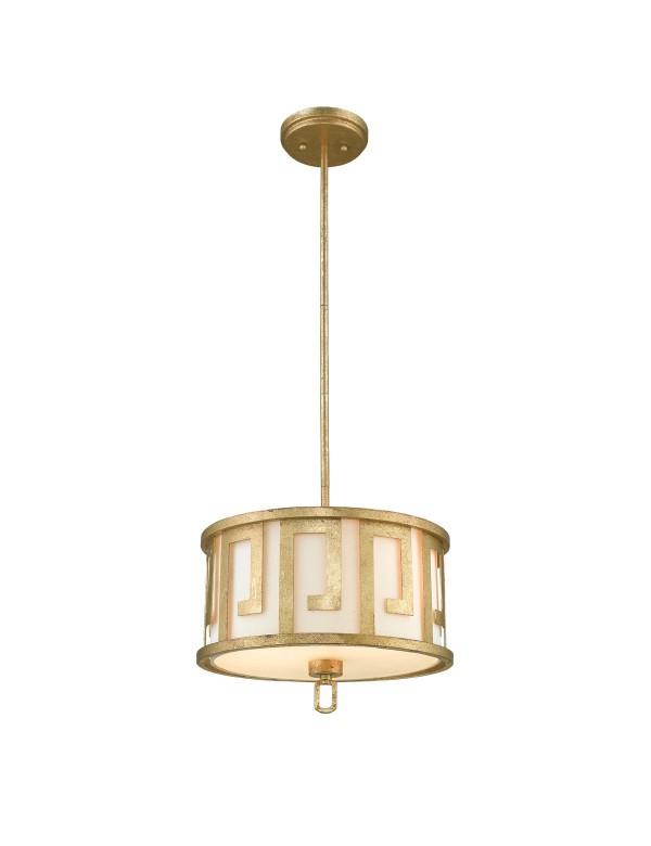 LEMURIA PM złota lampa wisząca i plafon w jednym - Gilded Nola