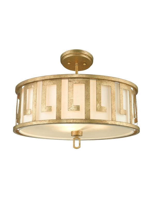 Lampa wisząca - plafon - LEMURIA PL w greckim motywem - Gilded Nola