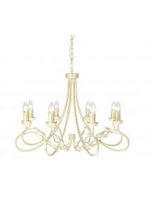 Wykwintna wisząca lampa domowa Olivia 8lt - Elstead Lighting
