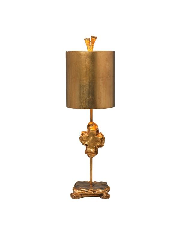 CROSS Silver / Gold stołowa lampa z krzyżem - Gilded Nola