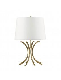 Lampa stołowa RIVERS TL podstawa z kręgu łuków - Gilded Nola