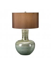 Stołowa lampa z wielokolorowa podstawą BARNSBURY - Elstead