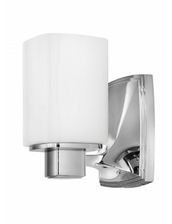 TESSA 1 błyszczący kinkiet łazienkowy w nowoczesnej stylizacji - Hinkley