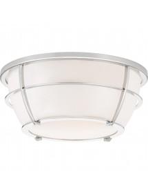 CHANCE plafon łazienkowy z polerowanymi pierścieniami - Quoizel