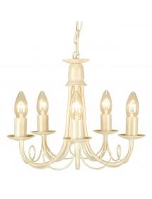 Ciekawa lampa wisząca Minster 5lt - Elstead Lighting