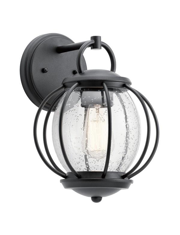 Ścienna lampa VANDALIA 2 S kula podczepiana do ściany - Kichler