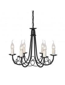 Czarujący żyrandol sześciopłomienny Minster 6lt - Elstead Lighting