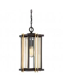 GOLDENROD 8 M łańcuchowa lampa wisząca do ogrodu na werandę - Quoizel