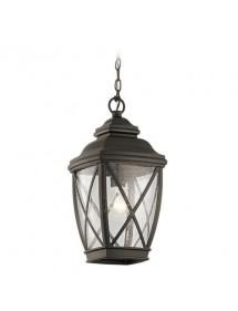TANGIER 8M wisząca lampa zewnętrzna w formie latarni - Kichler