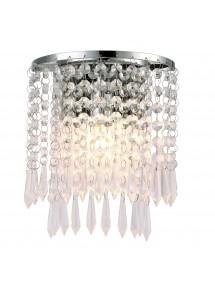 Kinkiet z kryształowymi wisiorkami PORTO K - Cosmo Light