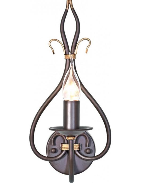Nietuzinkowy kinkiet jednopłomienny Windermere 1lt - Elstead Lighting