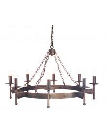 Stylowa lampa wisząca Cromwell 8lt - Elstead Lighting