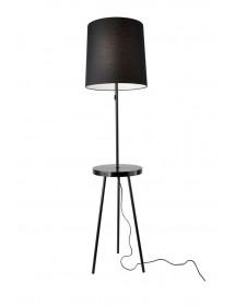TABULO LP podłogowa lampa z portem USB - Sompex