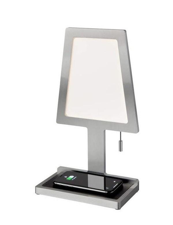 STEVE PHONE lampka biurkowa z ładowarką bezprzewodową - Sompex